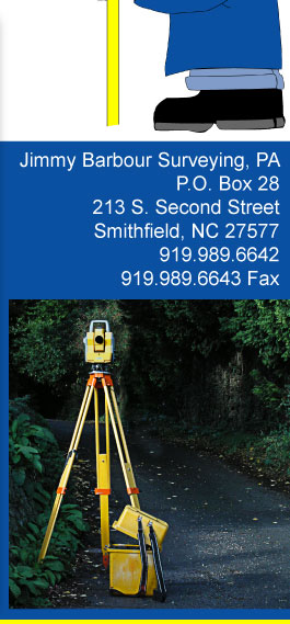 Jimmy Barbour Surveying - Johnston County, North Carolina